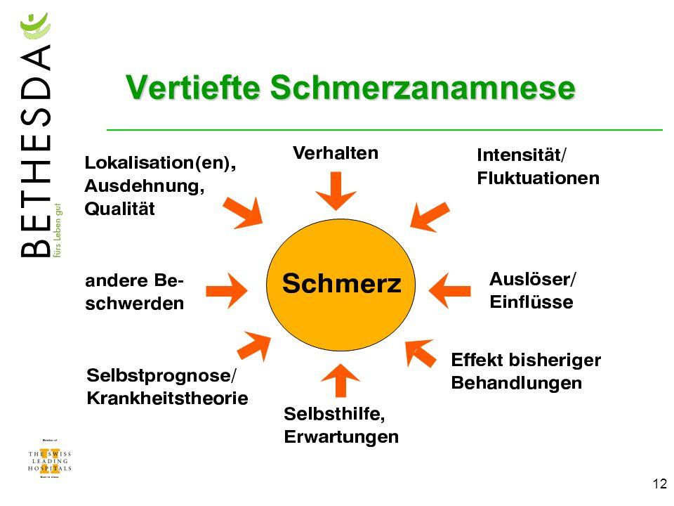 12 Vertiefte Schmerzanamnese