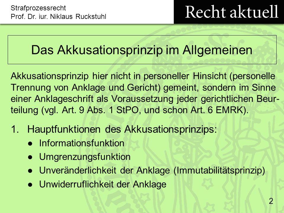 Strafprozessrecht Prof.Dr. iur.