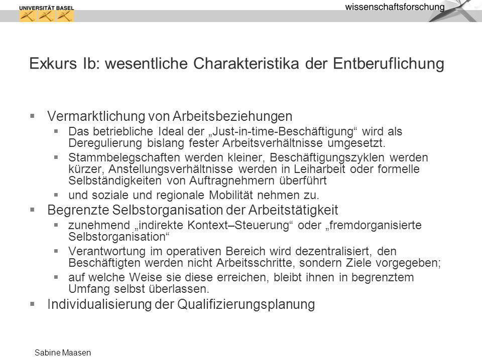 Sabine Maasen Produktionsfaktor Wissensmanagement...