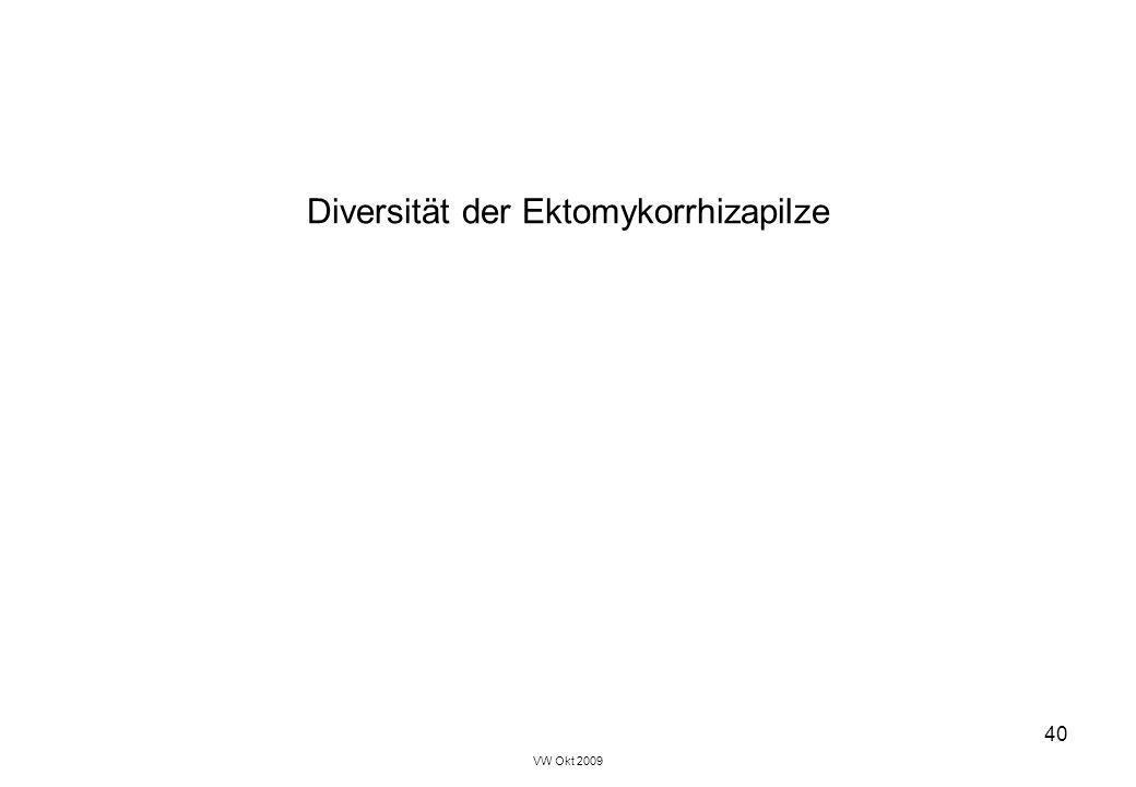 VW Okt 2009 40 Diversität der Ektomykorrhizapilze