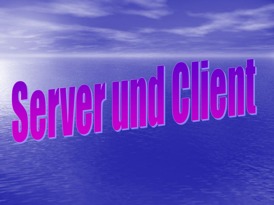 1.Schritt: Der GET-Request Der Client sendet einen GET-REQUEST an den Server.