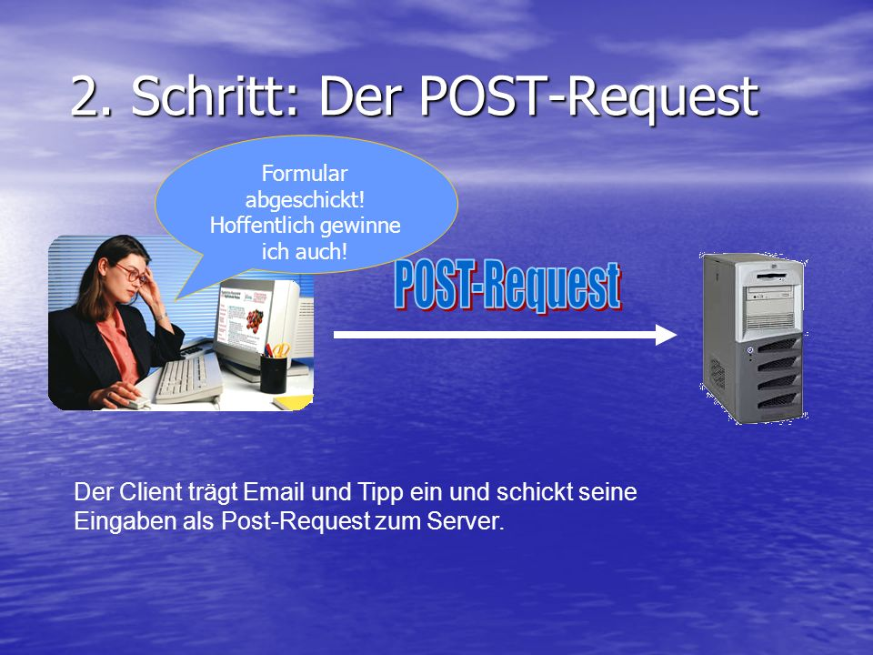 2. Schritt: Der POST-Request 2.