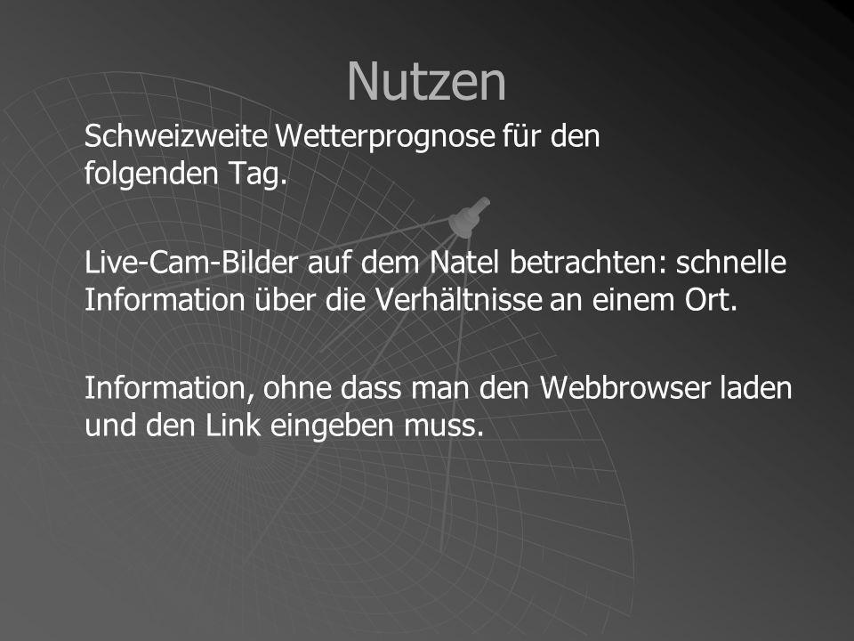 Umsetzung Technische Probleme & deren Lösungen Wetterprognose Bild-Download (Live-Cams)
