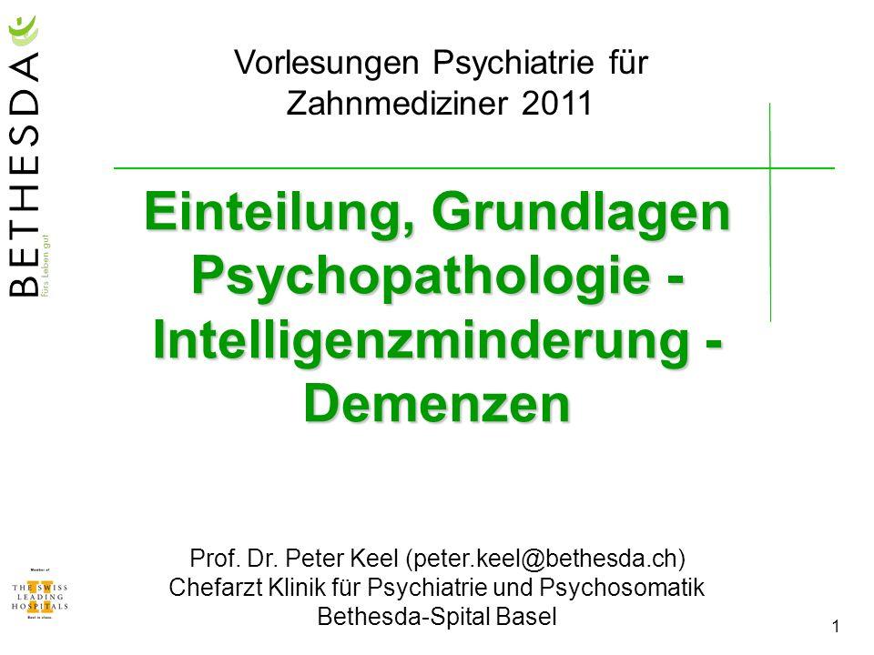 2 Klinik für Psychiatrie & Psychosomatik Ambulante Abklärung, Begutachtung und Behandlung (einzeln oder in Gruppen) von Patienten mit: - chronischen Rückenschmerzen (inkl.