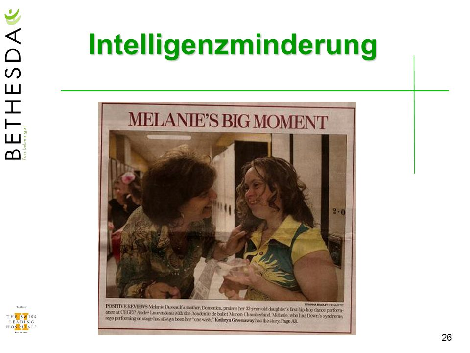26 Intelligenzminderung