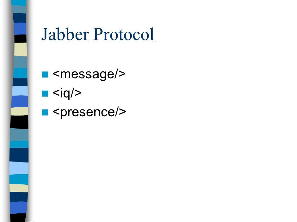 Was kann Jabber noch? Passt gut in Event-driven Kontexte A2A (Application to Application) [...]