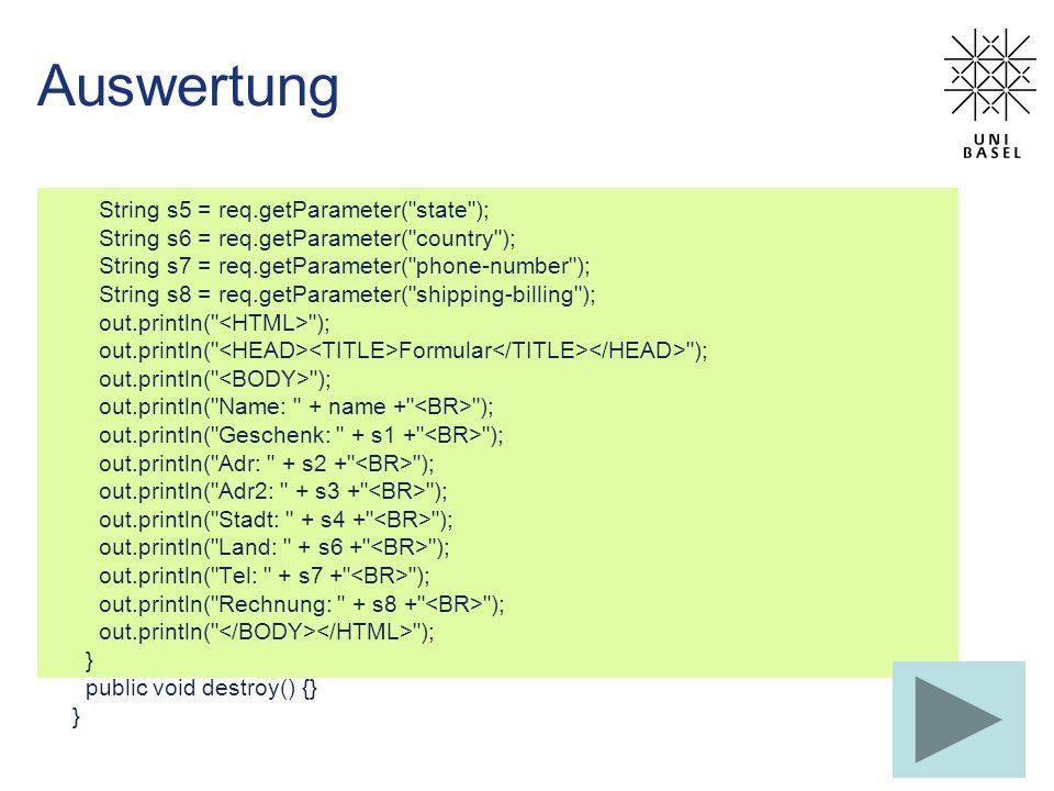 public void saveState() { // Versuch den Counter zu speichern FileWriter fileWriter = null; PrintWriter printWriter = null; try { fileWriter = new FileWriter( InitDestroyCounter.initial ); printWriter = new PrintWriter(fileWriter); printWriter.println(count); return; } catch (IOException e) { // Problem beim Schreiben } finally { // Zur Sicherheit das File schliessen if (printWriter != null) { printWriter.close(); } InitDestroyCounter