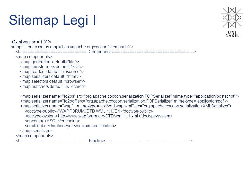 Sitemap Legi I -//WAPFORUM//DTD WML 1.1//EN http://www.wapforum.org/DTD/wml_1.1.xml ASCII yes