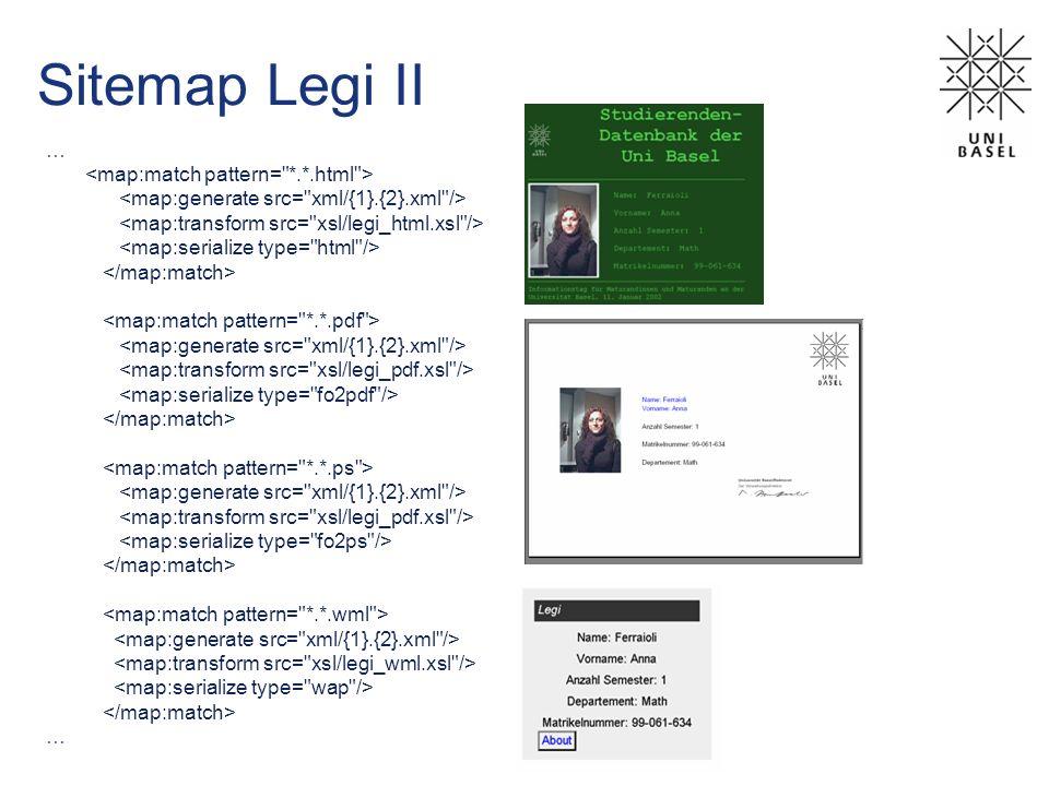 Sitemap Legi II … …