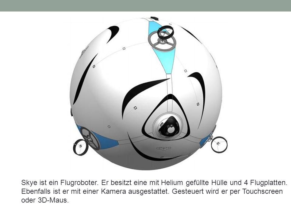 Technische Daten Durchmesser: 2.65m Max.Geschw.: ~15 km/h Max.