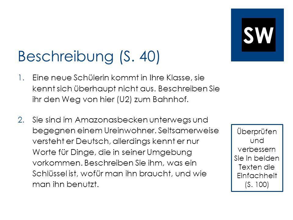 SW Beschreibung (S.