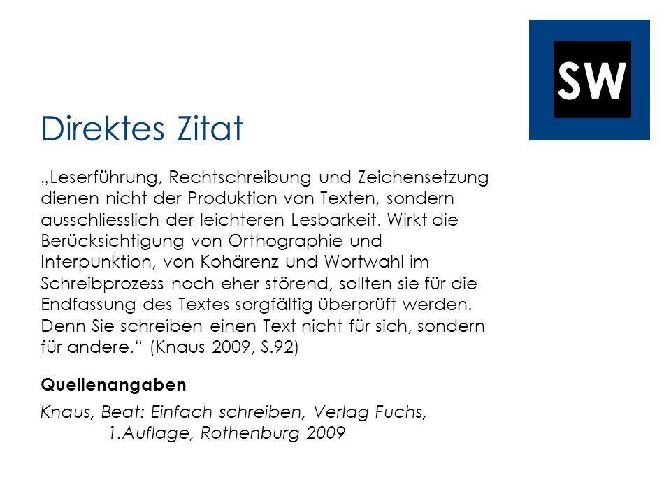 SW Schilderung (S. 41) Rest (S. 101 - 104)
