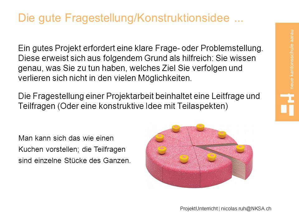 Beispiel ProjektUnterricht | nicolas.ruh@NKSA.ch Technische Produktion Konstruktive IdeeTeilaspekte Bau einer elektrisch angetriebenen Firmenlogo- Thermostanz-Maschine für den automatischen Einzug von A4-Blättern.