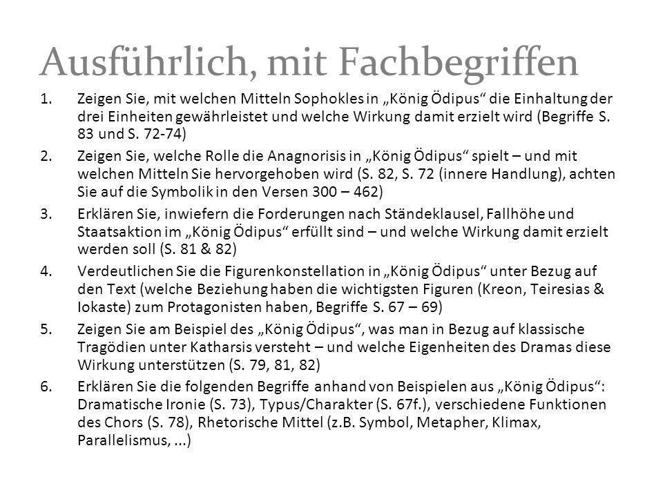 Planung Fr.12:15 (abt), Raum 110 –König Ödipus von Bodo Wartke, 1.