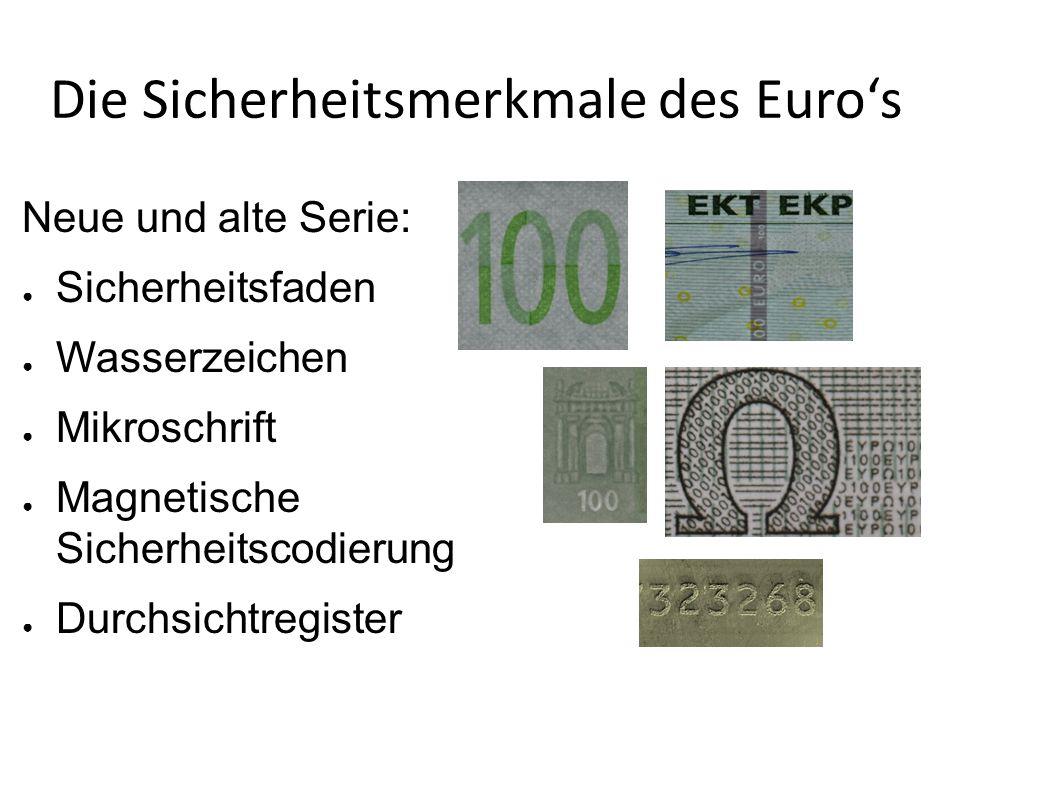 Was ist der Euro.Der Euro ist seit ende 2001 unsere Währung in Deutschland.