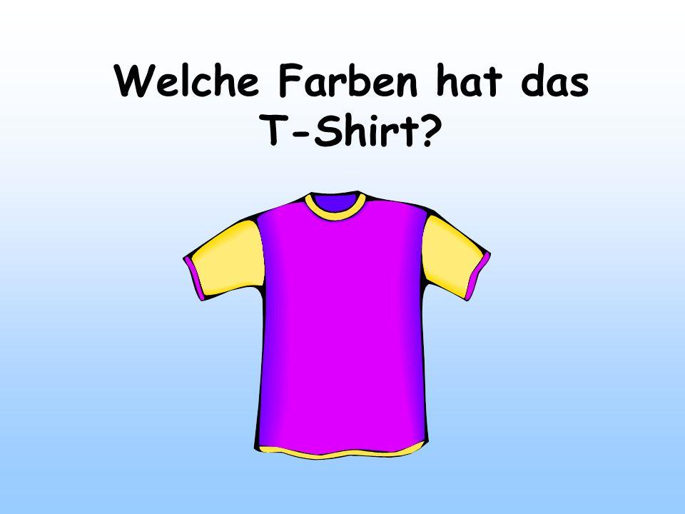 Welche Farben hat das T-Shirt?
