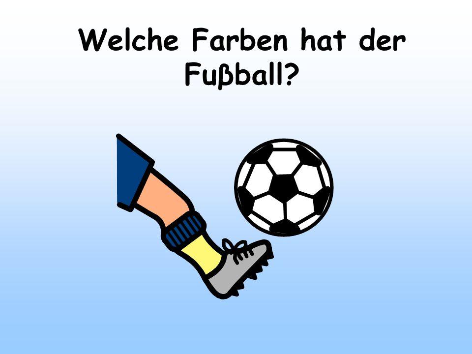 Welche Farben hat der Fuβball?