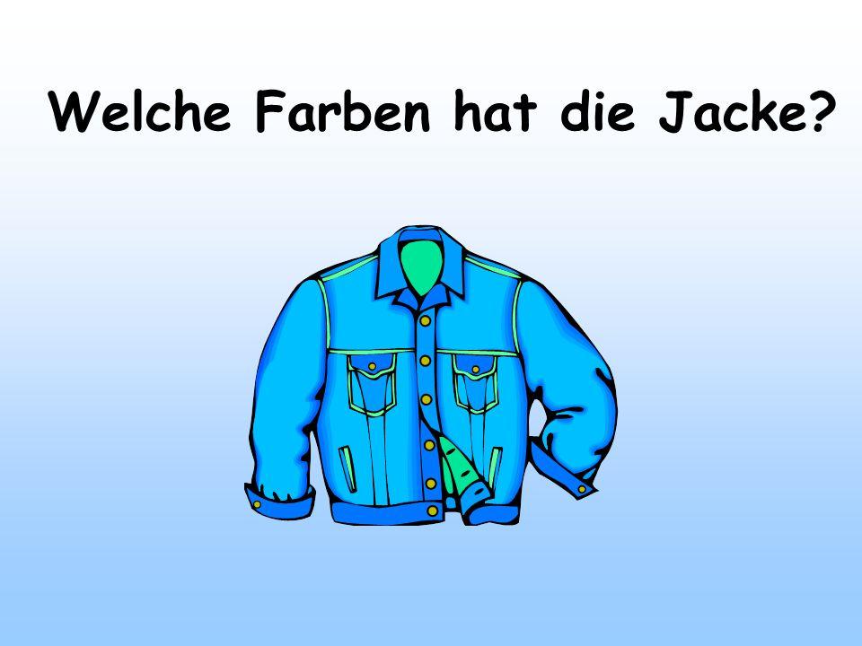 Welche Farben hat die Jacke?