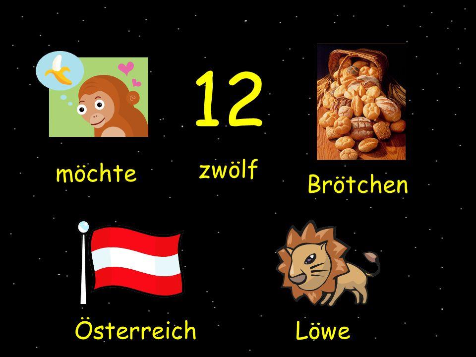 12 möchte zwölf Brötchen ÖsterreichLöwe