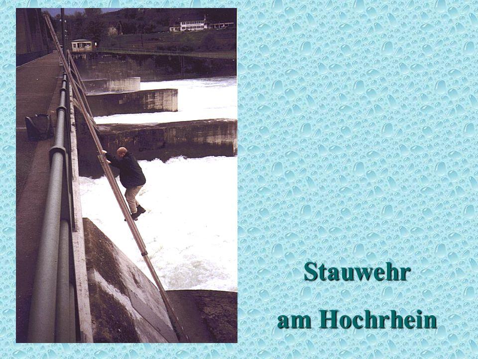 Stauwehr am Hochrhein Stauwehr 1