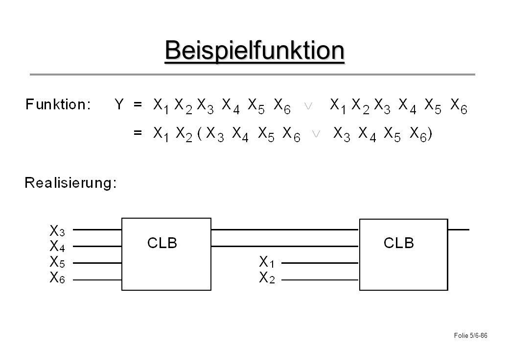 Folie 5/6-86 Beispielfunktion