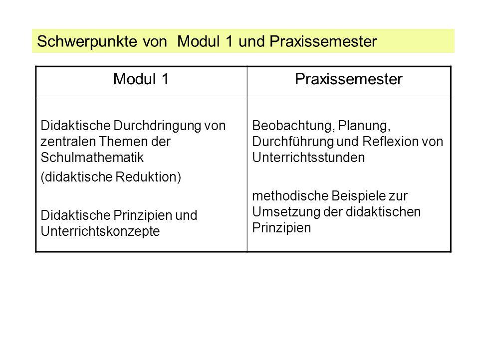 Vorbereitung von Modul 1 (WS 2011/12) Vorbereitungsgruppe: Dr.