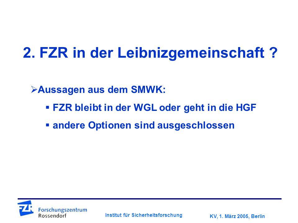 KV, 1. März 2005, Berlin Institut für Sicherheitsforschung 2.