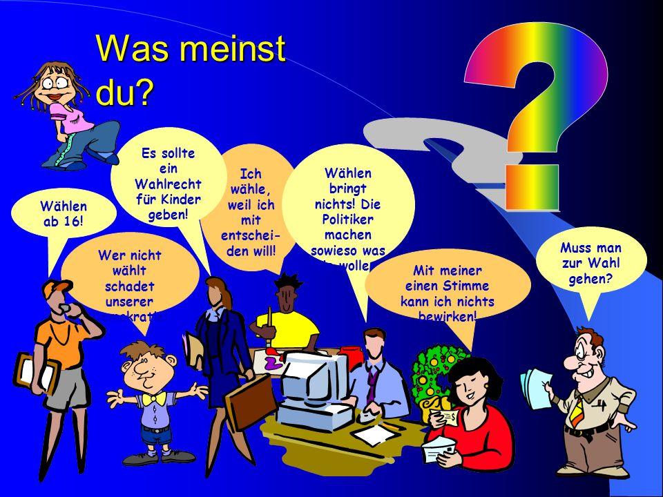 Deutscher Bundestag Wähler Wahlkreise Kandidaten Parteien Wählen einen Kandidaten einer Partei und eine Partei. Toll! So wird unser Bundestag gewählt.