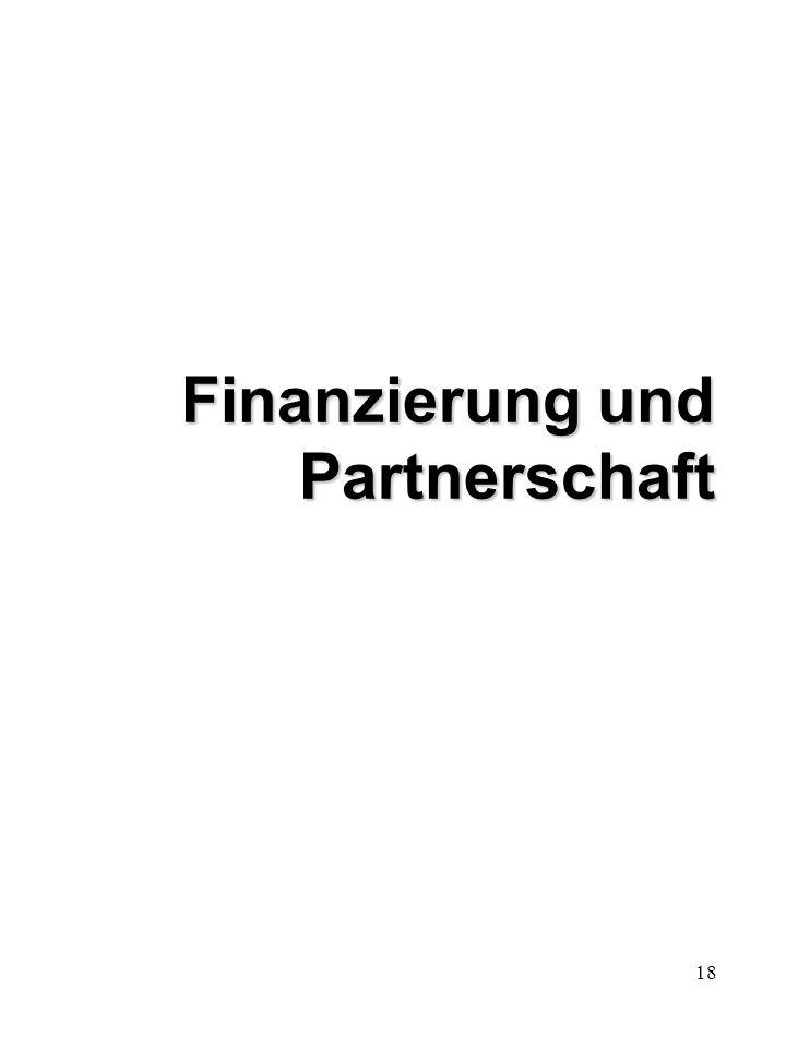 18 Finanzierung und Partnerschaft