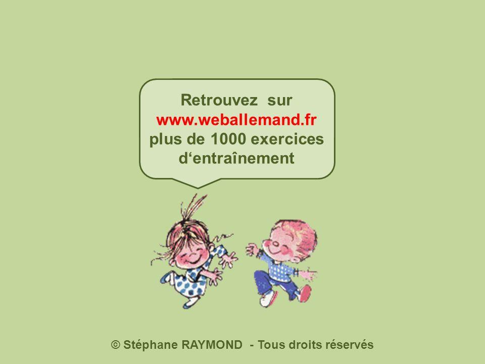 Ende Wieder anfangen © www.weballemand.fr Danke, wir sind jetzt gerettet!