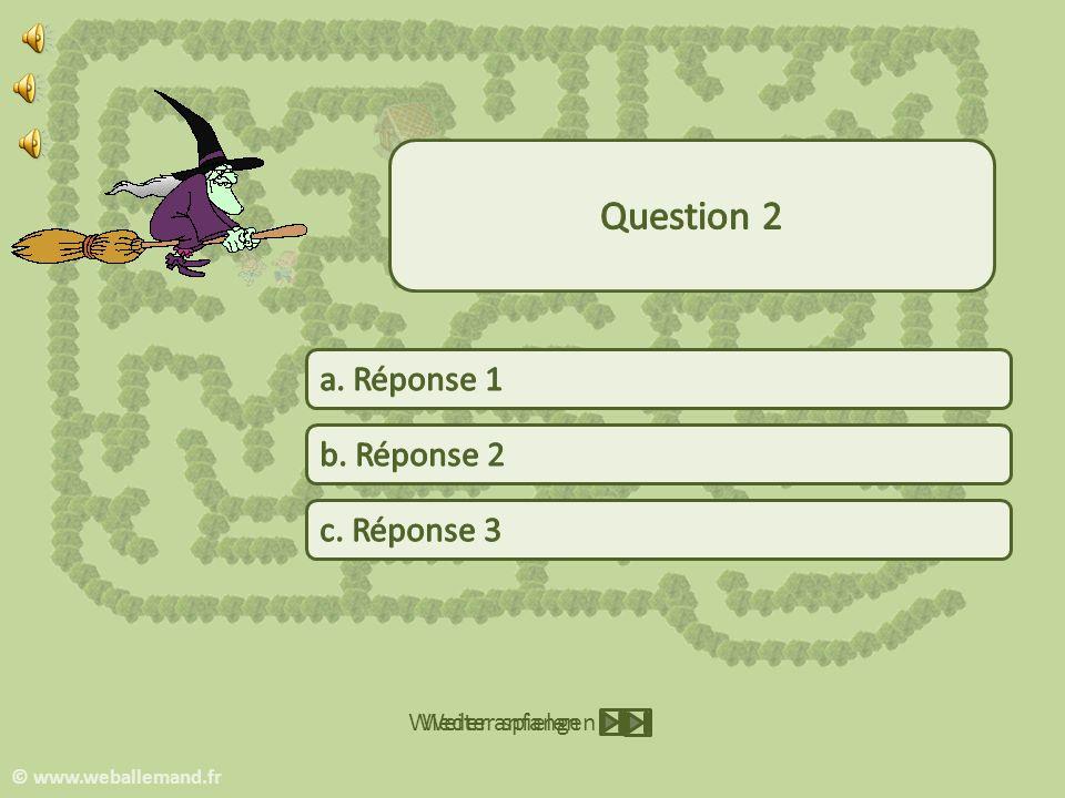 Weiter spielen Wieder anfangen © www.weballemand.fr
