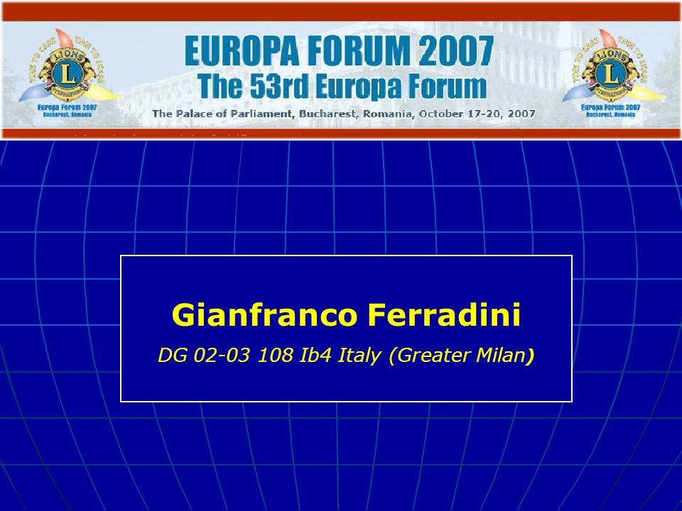 Gianfranco Ferradini DG 02-03 108 Ib4 Italy (Greater Milan )
