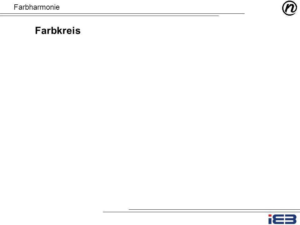 Farbharmonie Farbkreis