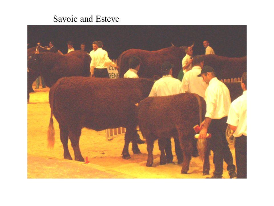 Savoie and Esteve