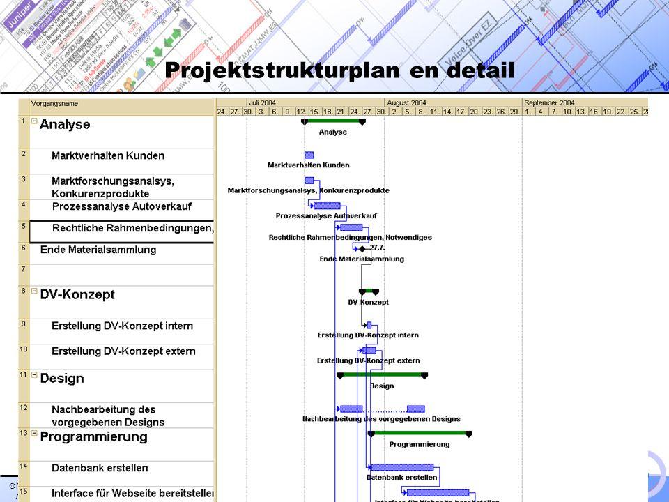 Nauck, Nadarajah, Amelew, Zeiger >> Übersicht >>Übersicht Fuer >> IEB > PM > Hr. Andexer >> Projektstrukturplan en detail