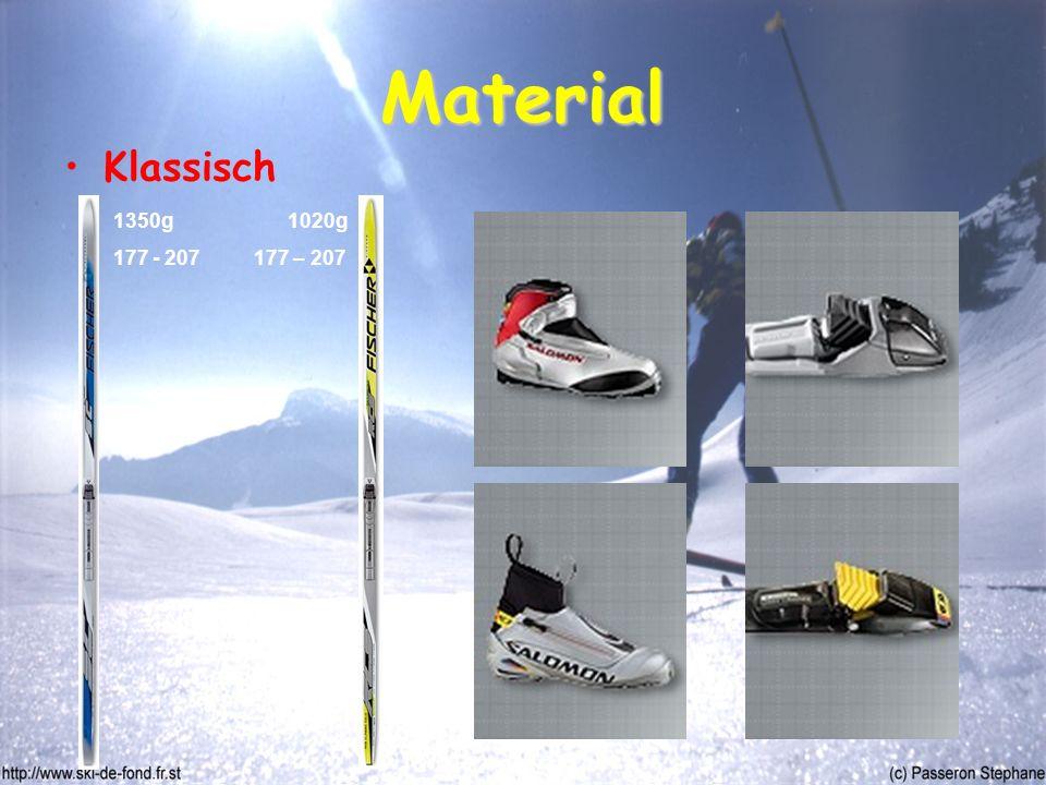 Material Klassisch 1350g 177 - 207 1020g 177 – 207