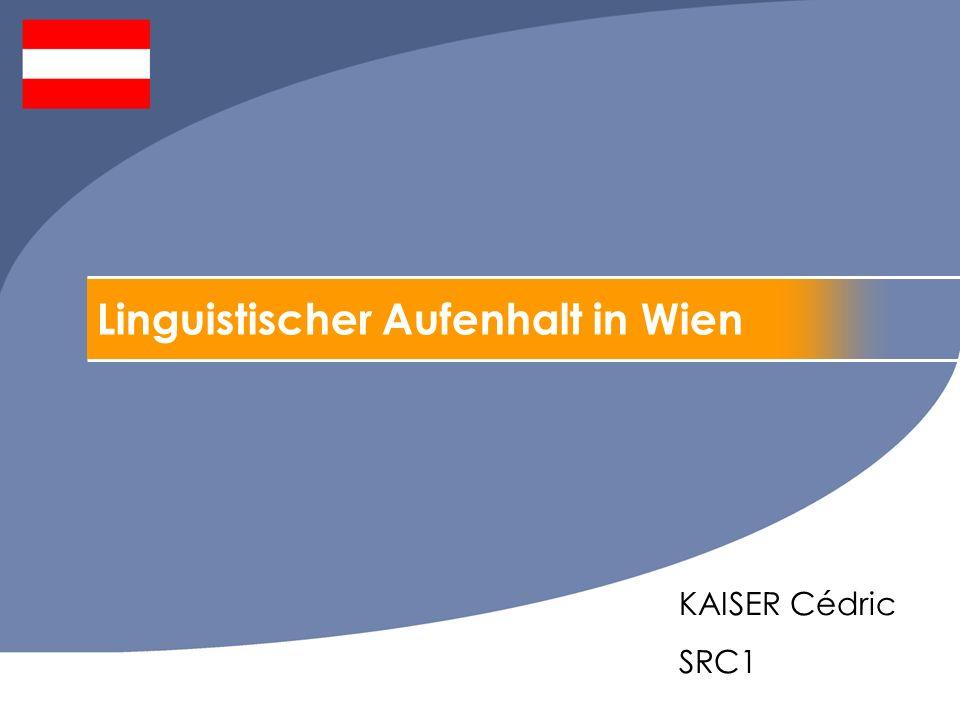 Linguistischer Aufenhalt in Wien KAISER Cédric SRC1