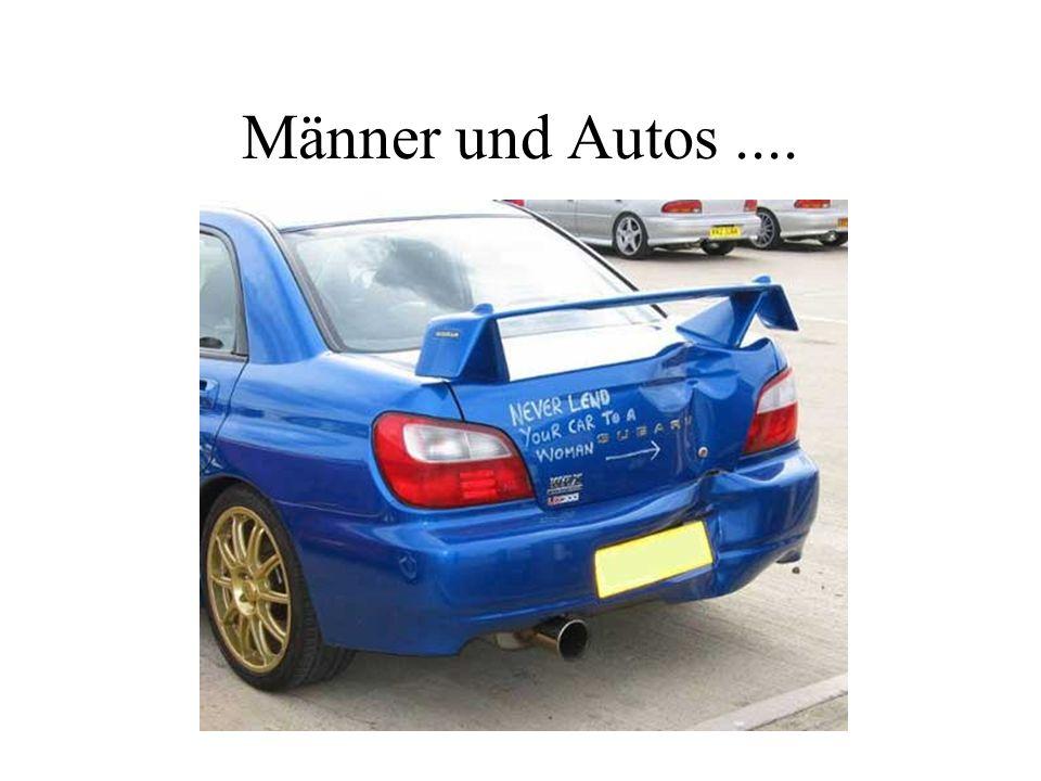 Männer und Autos....