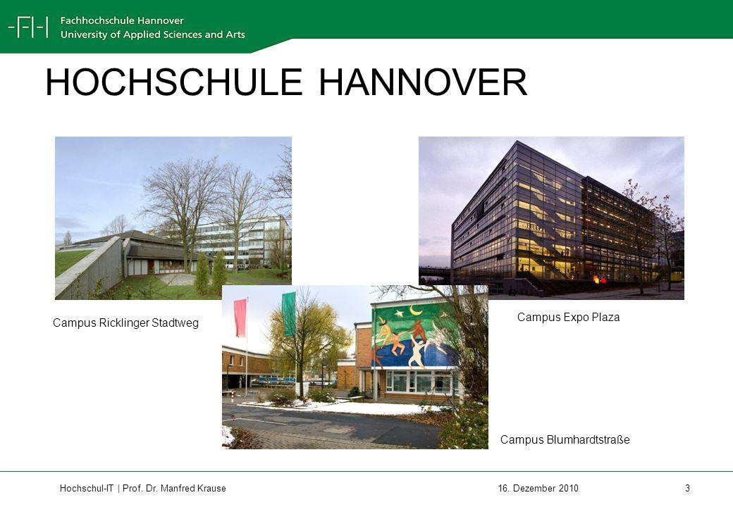 Hochschul-IT | Prof.Dr. Manfred Krause 3 16.