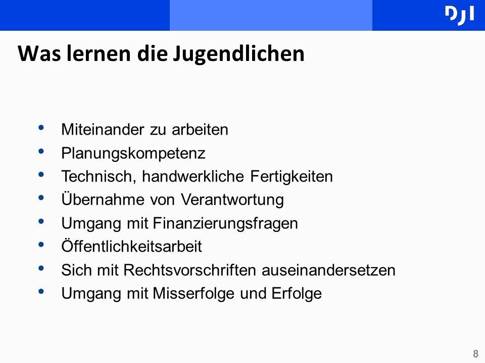 9 Bundesdeutsche Erfahrungen