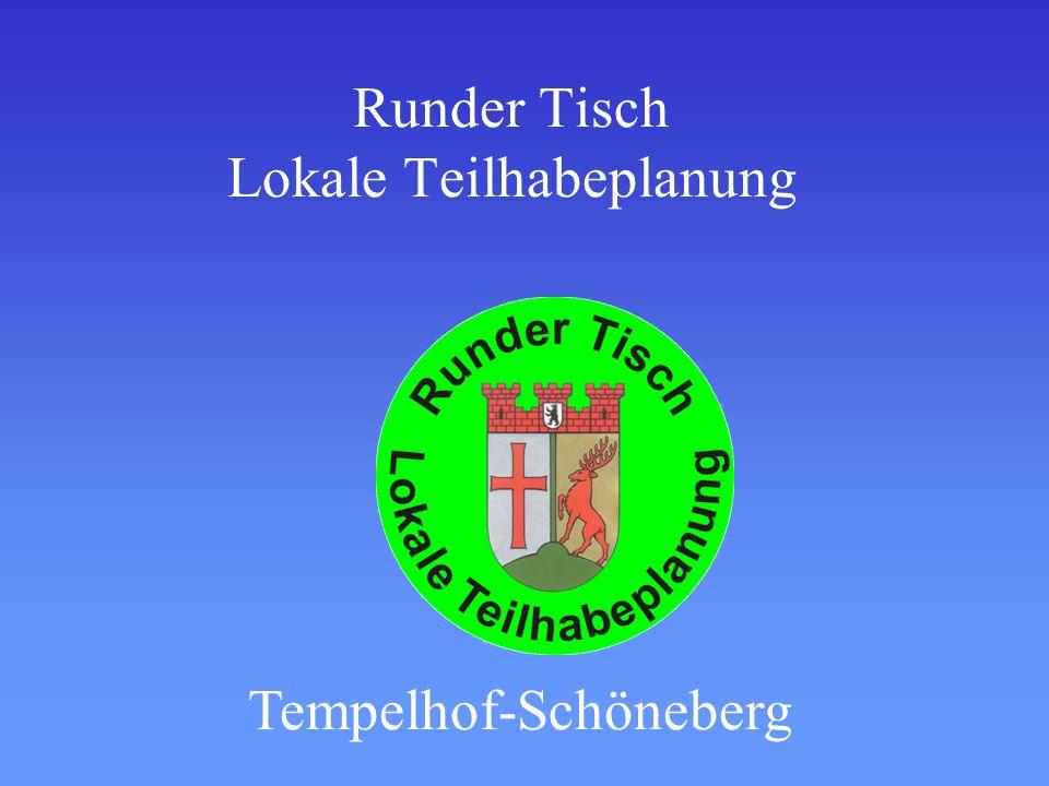 Runder Tisch Lokale Teilhabeplanung Tempelhof-Schöneberg
