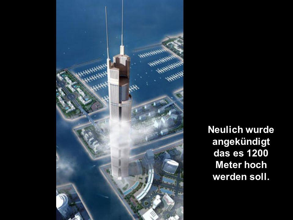 Das Al Burj.Dies wird mal der Blickfang der Silhouette von Dubai sein.