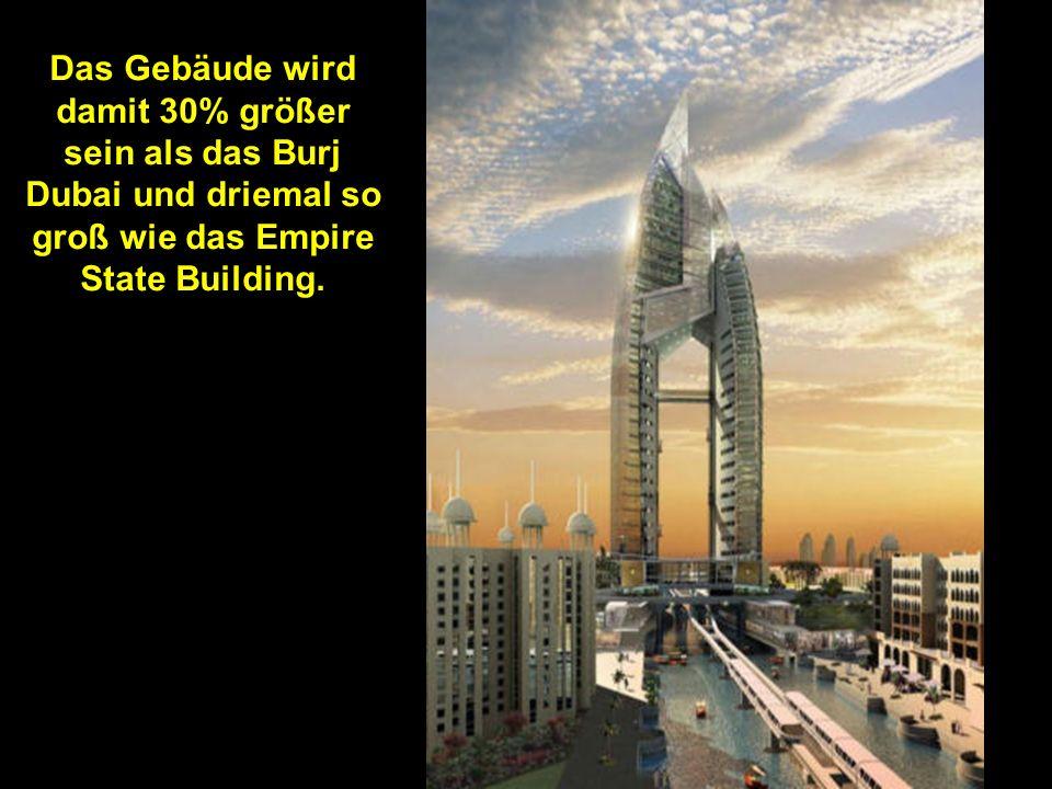 Neulich wurde angekündigt das es 1200 Meter hoch werden soll.