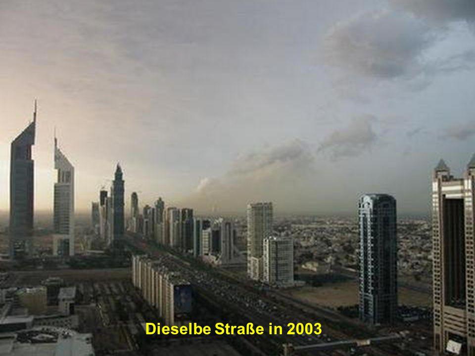 Dieselbe Straße in 2003