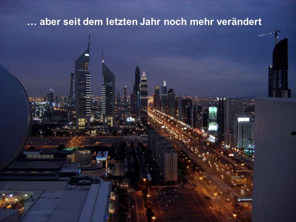 So wird die Stadt Dubai aussehen Ende 2008-2009.