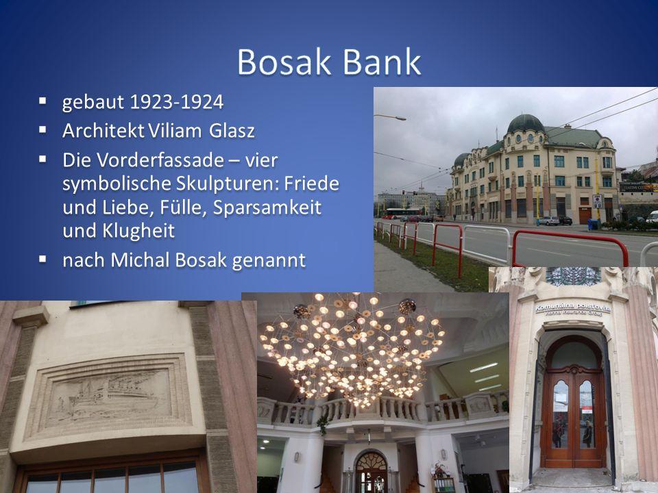 Europa Nostra Europäischer Denkmalschutz Jedes Jahr werden herausragende Leistungen im Bereich der Erhaltung von Kulturerbe ausgezeichnet Auszeichnungen werden in vier Kategorien vergeben Prešov - Bosak Bank - historisches Gebäude des Theater von Jonáš Záborský