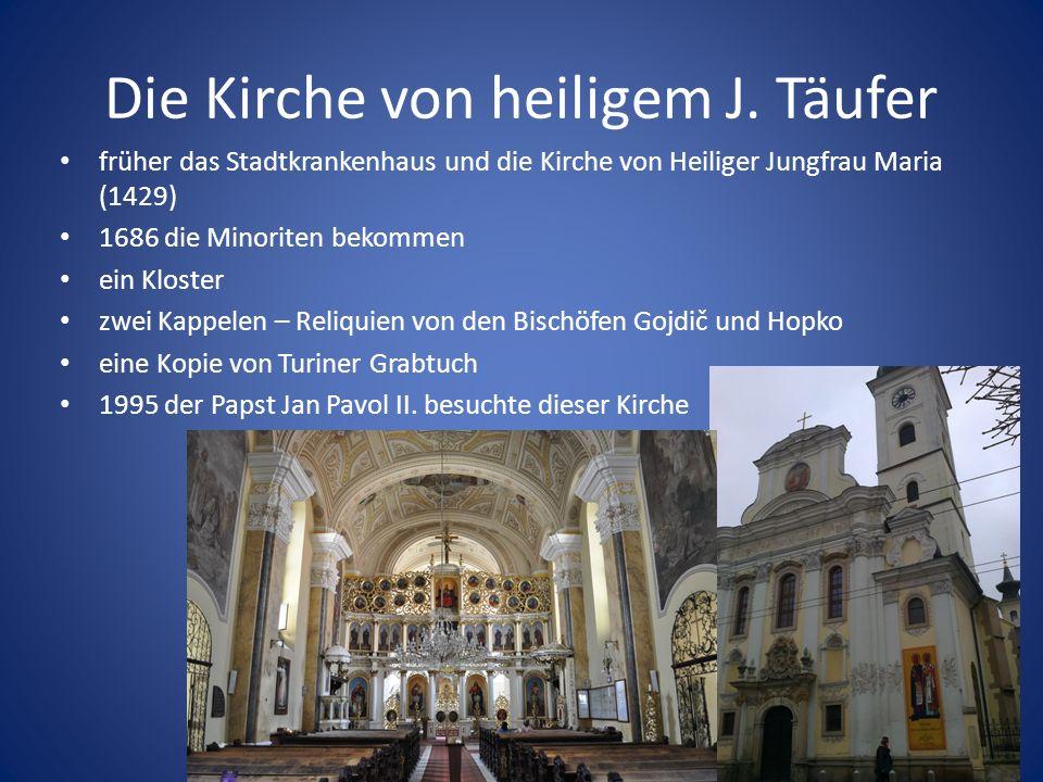 Die Kirche von heiligem J.