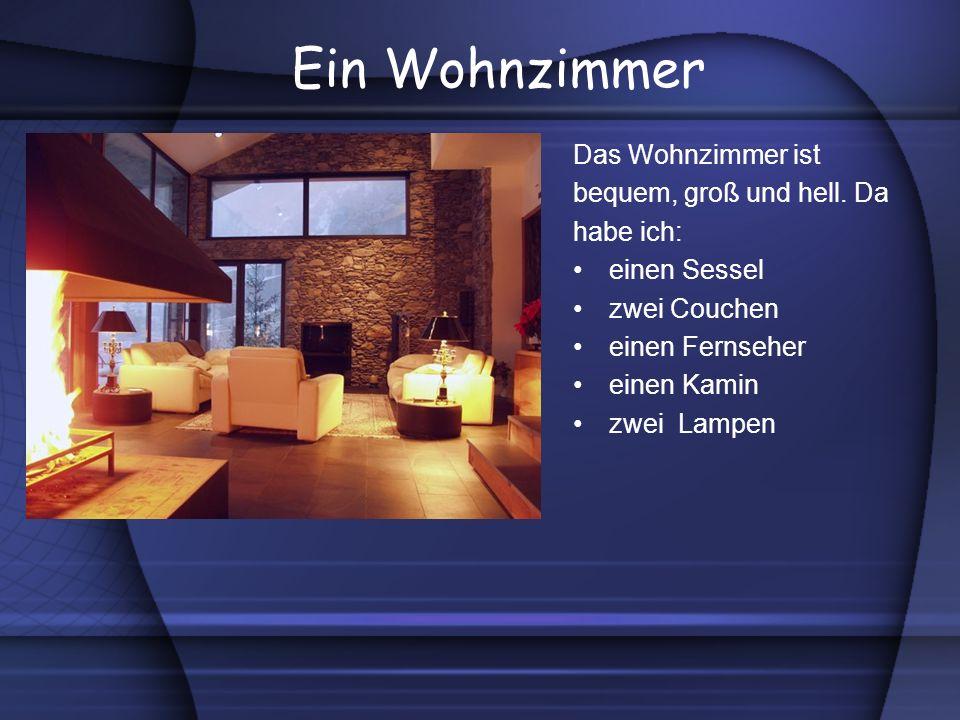 Ein Schlafzimmer Das Schlafzimmer ist bequem, simpel und klein.