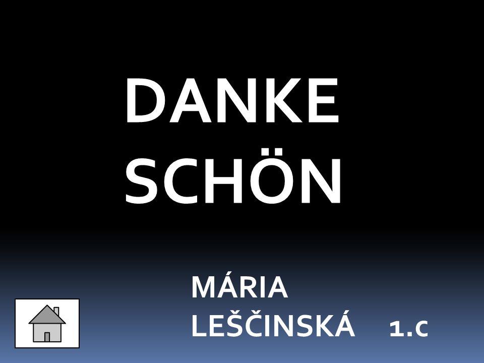 DANKE SCHÖN MÁRIA LEŠČINSKÁ 1.c