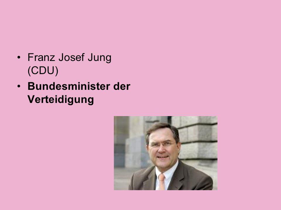 Horst Seehofer (CSU) Bundesminister für Ernährung, Landwirtschaft und Verbraucherschutz